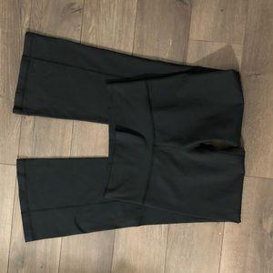 Lululemon classic black pants slight flare